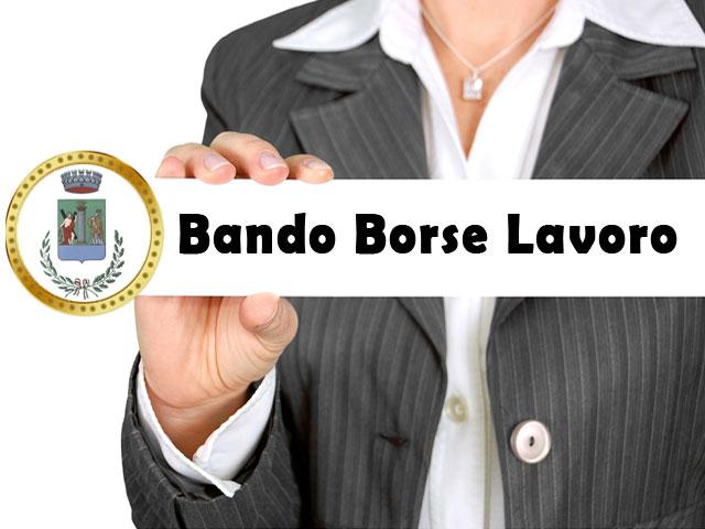 AVVISO PUBBILCO BANDO PER NR. 2 BORSE LAVORO