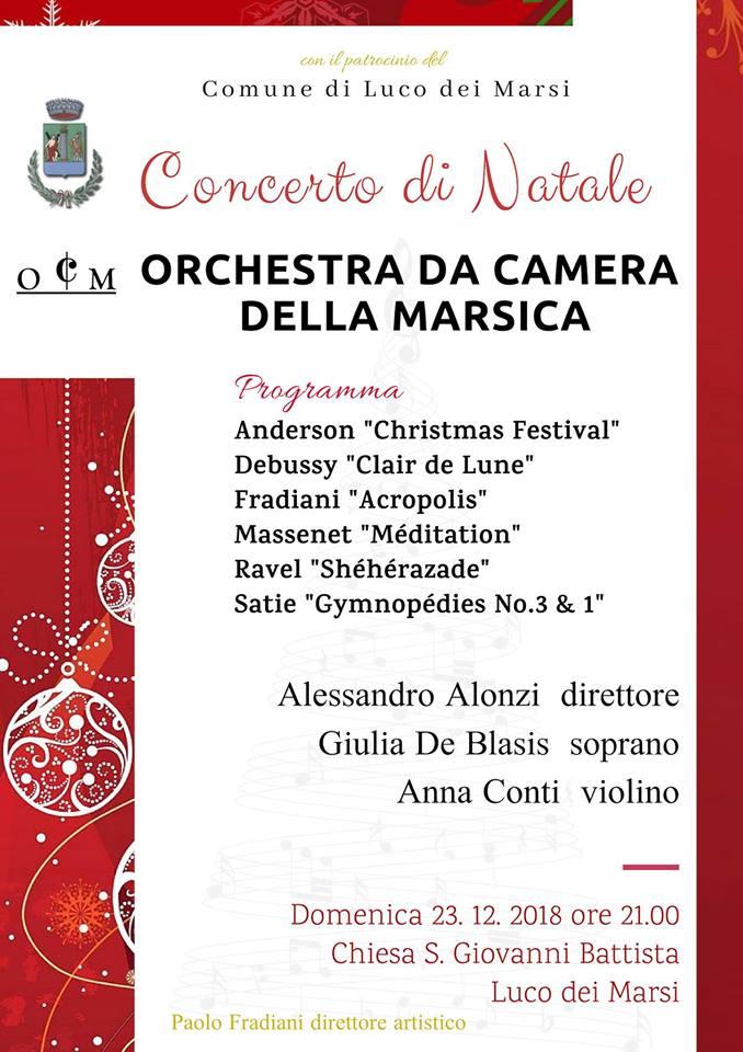 Concerto di Natale a Luco Dei Marsi