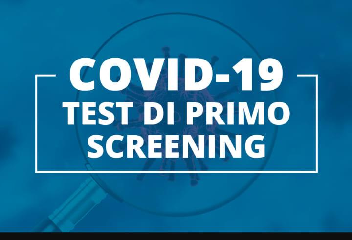 Modulo consenso per aderire allo screening provinciale per l'individuazione di contagi da COVID